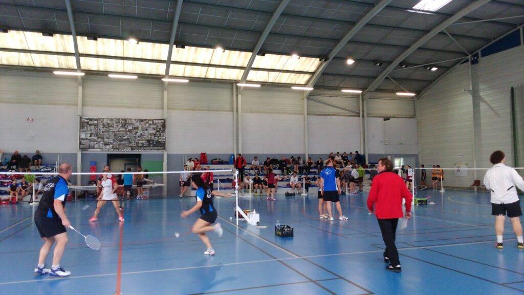 Des matches et des tournois ont lieux à l'Isle Jourdain pour le badminton.